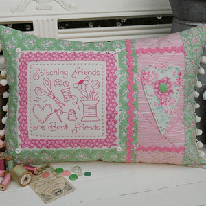 Stitching Friends - Cushion Pattern by The Rivendale Collection