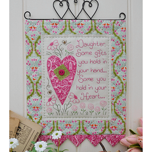 Your Heart - Wall Hanging Pattern by The Rivendale Collection