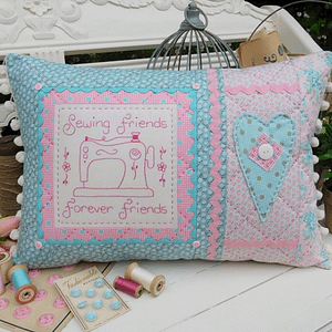 Sewing Friends - Cushion Pattern by The Rivendale Collection